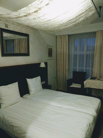 Slaapkamer Hotel Spoorzicht in Loppersum
