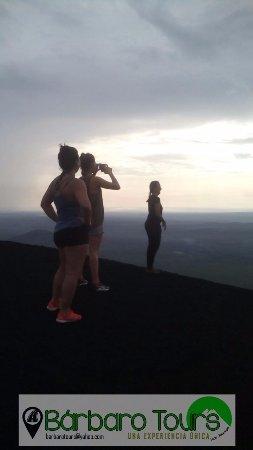 Leon Department, Nicaragua: sobre el Cerro Negro, muy lindo