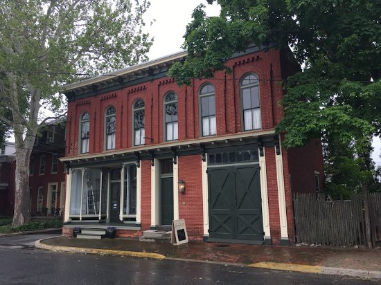 Columbia, PA: GarthCafé was formerly a 19th century shop and carriage house