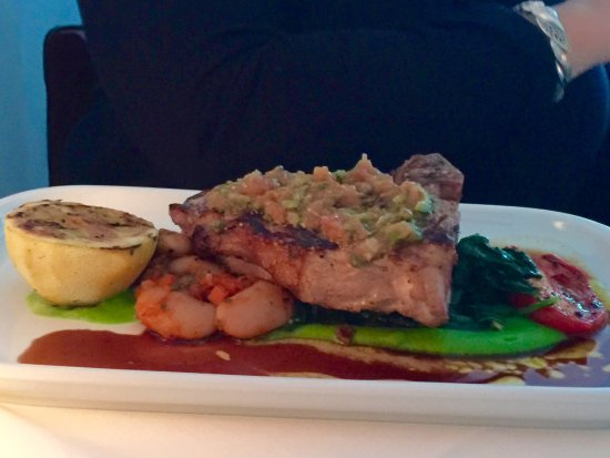 Bishop's: Veal porterhouse.