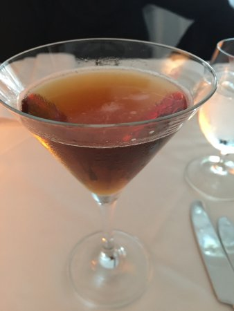 Bishop's: The Wiley Welshman. A modern take on a Manhattan cocktail. So delicious!