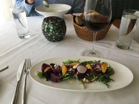 Towson, MD: Beet salad