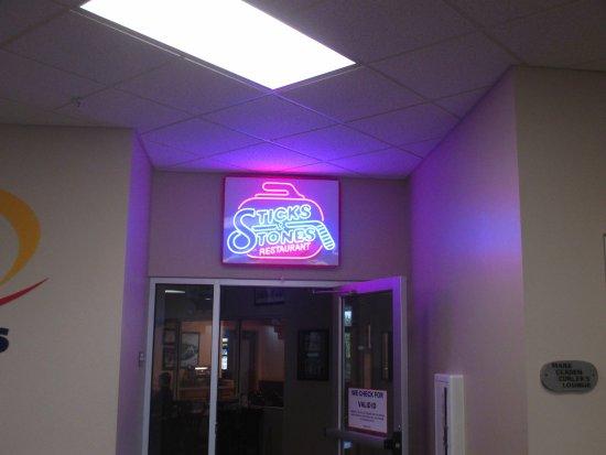 Blaine, MN: Restaurant sign