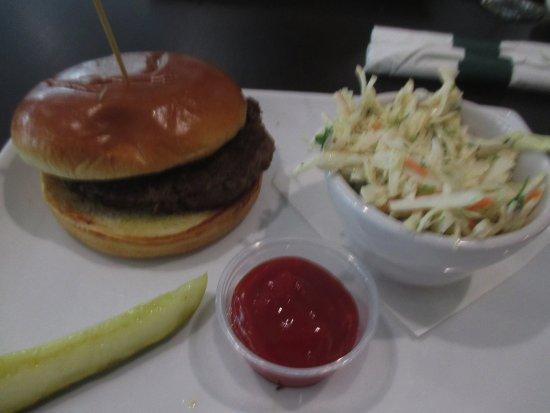 Blaine, MN: Hamburger with Cole Slaw $ 7.99