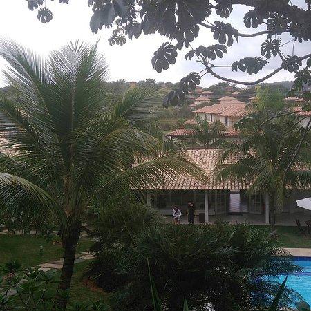 Pousada Bucaneiro: Vista da varanda do quarto.