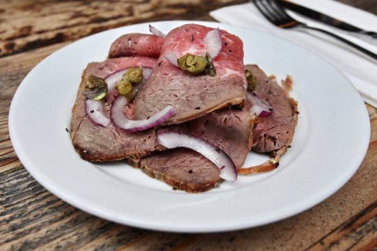 The Station House: small plate Roast beef