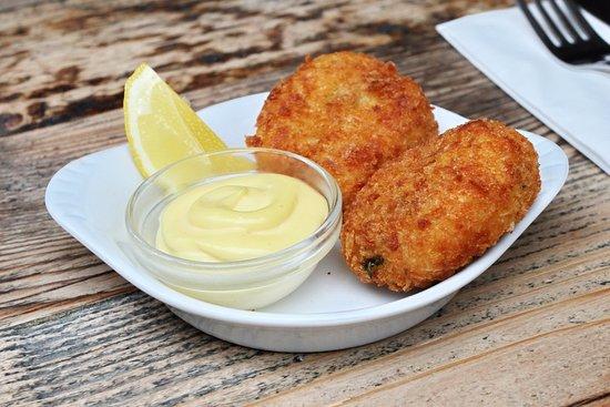 The Station House: Salt cod fishcakes