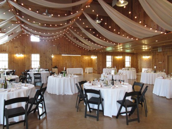 The Inn at Manchester : dressed up and ready for the reception -