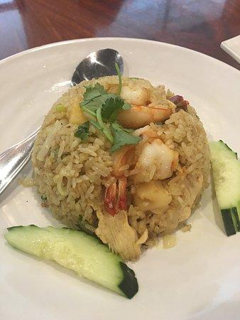 Lotus of Siam: Pineapple Fried Rice