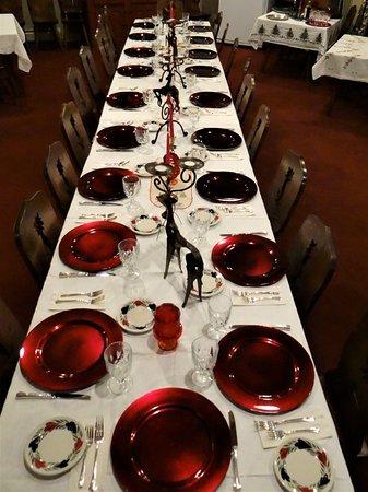 Blue Gentian Lodge: Dining Area