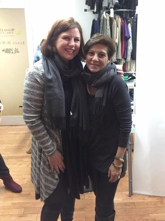 Shop Gotham NYC Shopping Tours : With designer Renee DeMarr - she's such a fun character!