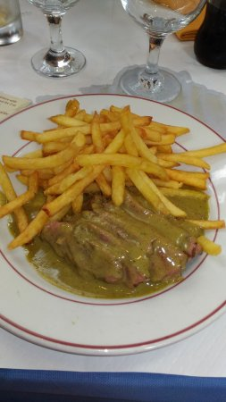 Le Relais De Venise - Marylebone: first service, more meat and chips later