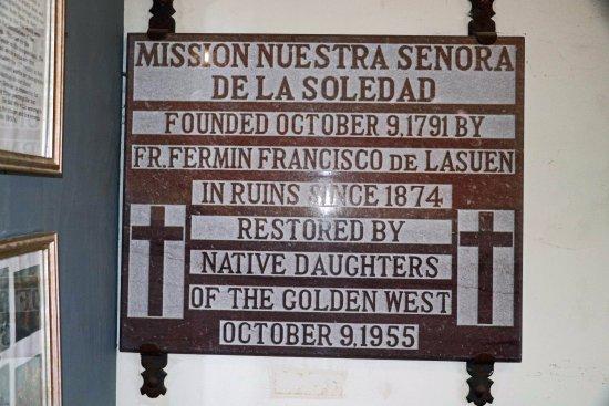 Soledad, แคลิฟอร์เนีย: Restoration