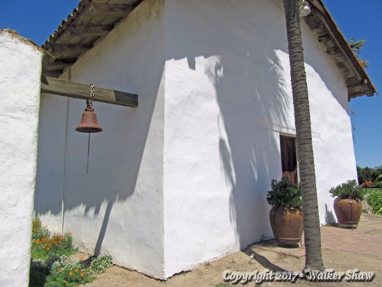 Soledad, CA: Facade with bell