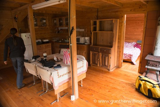 San Gerardo de Dota, Costa Rica: Inside the cabin