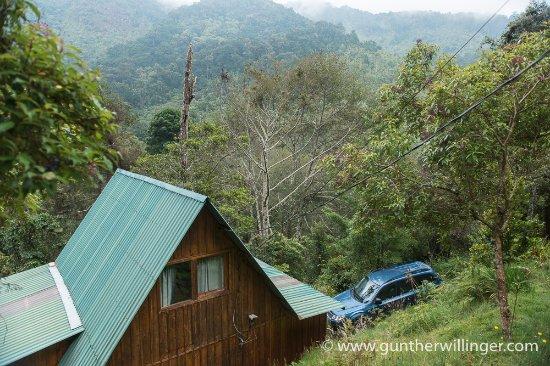 San Gerardo de Dota, Costa Rica: Cabin and montane forest