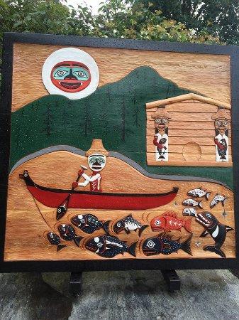 Nanaimo, كندا: Native Indian Art