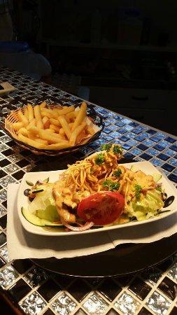 Kawerau, New Zealand: Chicken Salad