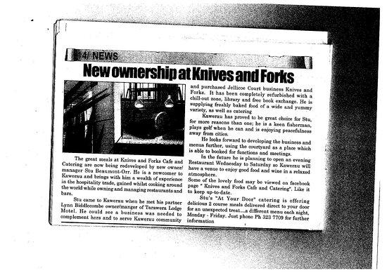famous in Kawerau!