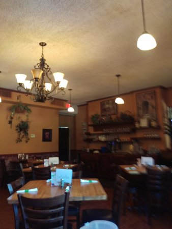 Angelo's: Just part of dining room.