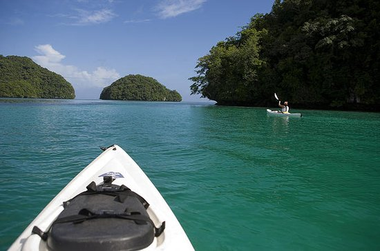 Rock Islands Kayak and Snorkel Small-Group Tour in Palau