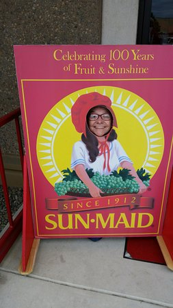 Kingsburg, Kalifornien: Smile!