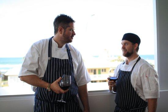 Head chef chris harrington sous chef glen burnett for 8th ave terrace palm beach