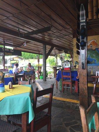 Nuevo Arenal, Costa Rica: German Bakery seating area