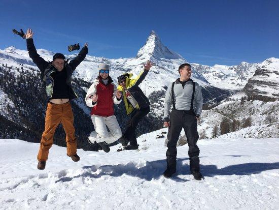 My Skischool Zermatt: Крутая компания. Покатались Супер!!!