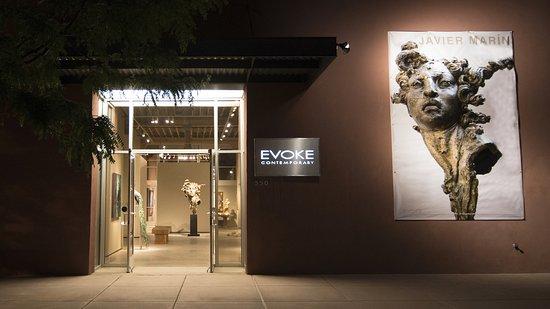 Evoke Contemporary: Exterior photo of EVOKE Contermporary.