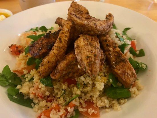 Nite & Day: Quinoa with Cajun Chicken