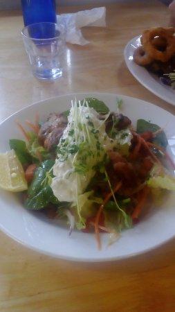 Beauty Point, Australia: Warm Chicken Salad
