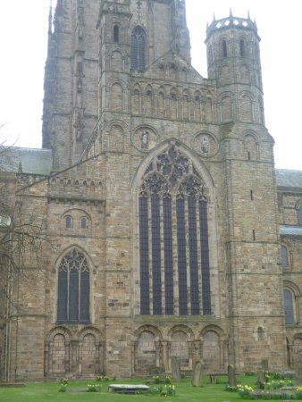 Durham Cathedral Romanesque Building With Gothic Characteristics