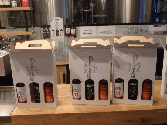 Prachatice, Česká republika: Take out beer