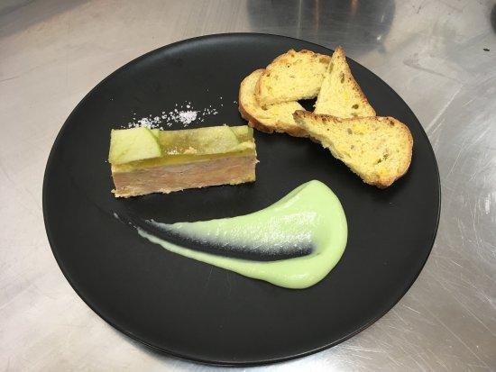 Lons-le-Saunier, Fransa: Foie gras, déclinaison de granny-smith