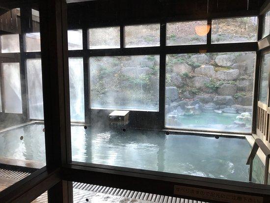 蔵王国際 ホテル, 内湯