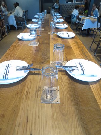 Long table picture of boca kitchen bar and market for 13 american table boca raton menu