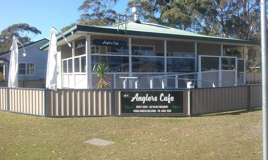 Lake Conjola, أستراليا: Anglers Cafe