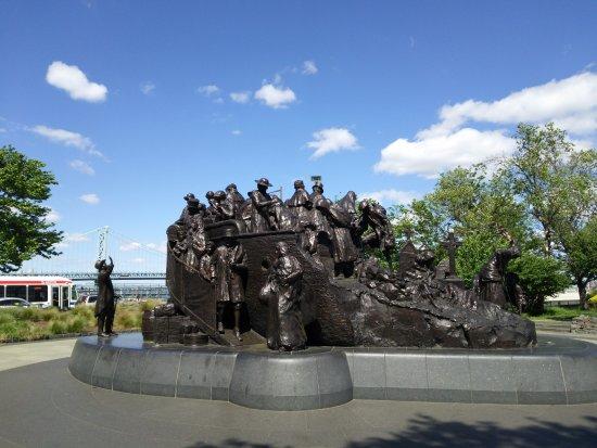 The Irish Memorial Monument