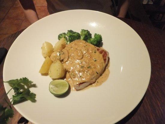 Tutmak: Grilled Tuna in Caper Sauce