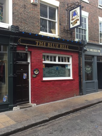 The Blue Bell: York's smallest pub