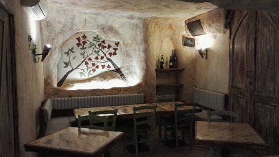 Pennabilli, Italy: Saletta interna
