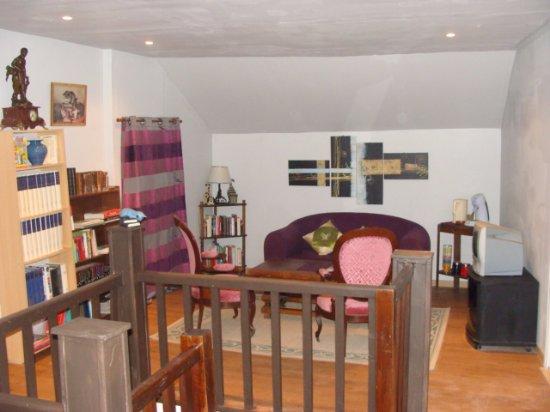 Crancey, France : salon des hôtes
