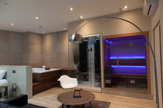 My spa attitude hammam sauna jacuzzi privatif