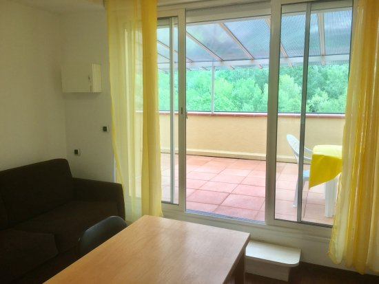 Amelie-les-Bains-Palalda, فرنسا: Studio terrasse