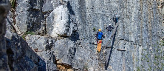 Saint-Claude, France: Via Ferrata Morez