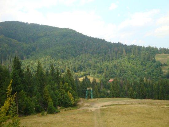 Podobovets, أوكرانيا: Виды с горы
