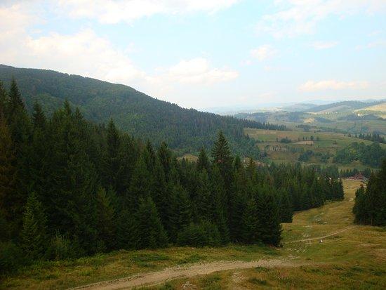 Podobovets, ยูเครน: Виды с горы