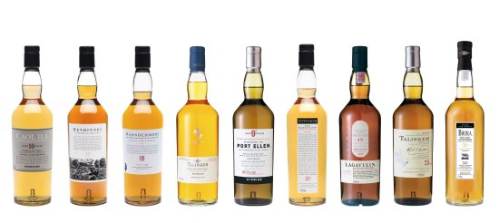 Donzy, France: Beaucoup de whiskies superieurs