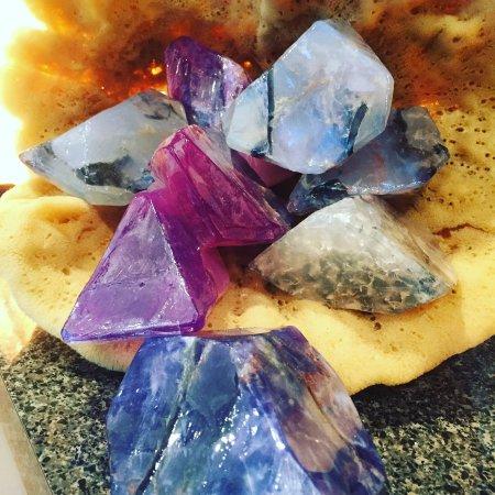 Jupiter, Floride : Beautiful scented soap rocks